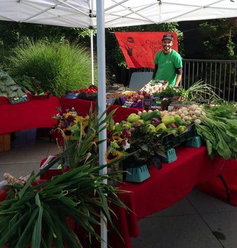 Organic Vegetables from Chickadee Creek Farm with a CSA in Pennington, Princeton, Montgomery and New Brunswick